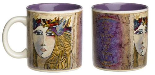 Laurel Burch Rainbow Soul Mug